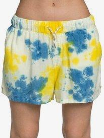 Quiksilver Womens - Elasticated Linen Shorts  EQWNS03016