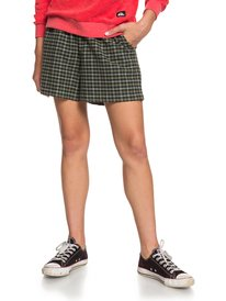 ELASTICATED CHECK SHORT  EQWNS03019