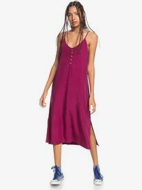 Coral Spring - Strappy Midi Dress for Women  EQWWD03010