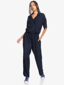 Volcano Trip - Short Sleeve Jumpsuit for Women  EQWWD03012