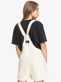 Tribal District - Organic Dungaree Shorts for Women  EQWWD03020