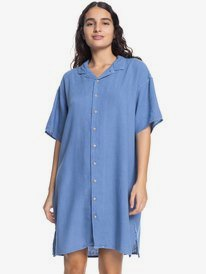 Quiksilver Womens - Short Sleeve Shirt Dress for Women  EQWWD03021