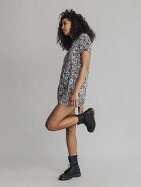 Quiksilver Womens - Short Sleeve Shirt Playsuit  EQWWT03003