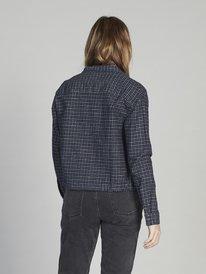 Quiksilver Womens - Long Sleeve Zip-Up Shirt for Women  EQWWT03012