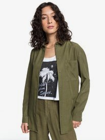 Quiksilver Womens - Loose Longline Long Sleeve Shirt  EQWWT03030