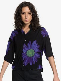 Quiksilver Womens - Short Sleeve Camp Shirt for Women  EQWWT03040