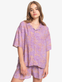 Sunny Ride - Boxy Camp Shirt for Women  EQWWT03053