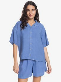 Surf Camp - Short Sleeve Shirt for Women  EQWWT03065