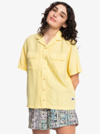 Quiksilver Womens Destination Trip - Short Sleeve Shirt for Women  EQWWT03068