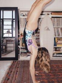 Quiksilver Womens - High Leg One-Piece Swimsuit  EQWX103001