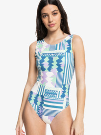 Quiksilver Womens - High Neck One-Piece Swimsuit for Women  EQWX103029