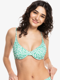 Quiksilver Womens Classic - Recycled Underwired Bikini Top for Women  EQWX303026
