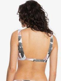 Quiksilver Womens Classic - Recycled Crop Top Bikini Top for Women  EQWX303031
