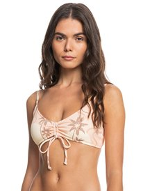 Classic Ruched - Recycled Bikini Top for Women  EQWX303055