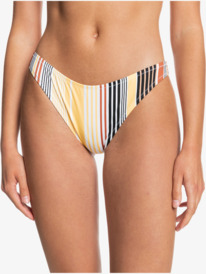 Quiksilver Womens Classic - Recycled High Leg Bikini Bottoms for Women  EQWX403024