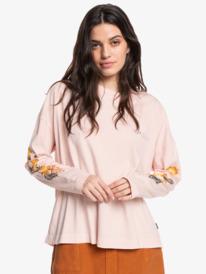 Quik Classic Oversized - Long Sleeve T-Shirt for Women  EQWZT03049