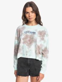 Oversized Mineral Tie-Dye - Long Sleeve T-Shirt for Women  EQWZT03069