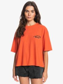 Boyfriend Linen - T-Shirt for Women  EQWZT03071