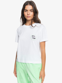 Quiksilver Womens - Cropped T-Shirt for Women  EQWZT03090