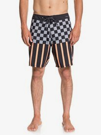 """Check Magnet 18"""" - Board Shorts for Men  EQYBS04015"""