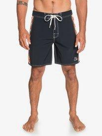"""Echo Beach Checker 18"""" - Board Shorts for Men  EQYBS04455"""