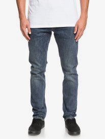 Revolver Medium Blue - Straight Fit Jeans for Men  EQYDP03372