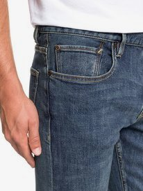 Revolver Medium Blue - Straight Fit Jeans for Men  EQYDP03372