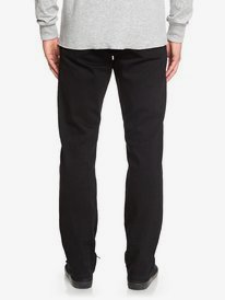 Modern Wave Black Black - Straight Fit Jeans for Men  EQYDP03406