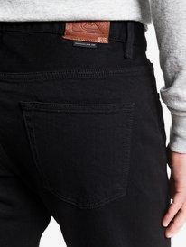 Modern Wave Black Black - Straight Fit Jeans for Men  EQYDP03406