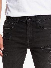 """Distorsion Stranger Black 18"""" - Denim Shorts for Men  EQYDS03084"""