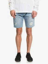 High Water Blue Rip - Denim Shorts  EQYDS03090