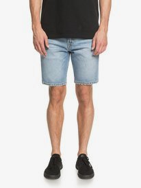 "Modern Wave Salt Water 18"" - Denim Shorts for Men  EQYDS03094"