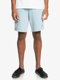 "Trip Away 19"" - Organic Sweat Shorts for Men  EQYFB03235"
