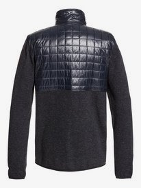 Into The Wild - Technical Zip-Up Mock Neck Fleece for Men  EQYFT03962