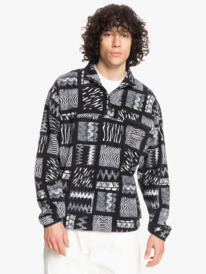 Originals Tribal Mosaic - Half Neck Polar Fleece for Men  EQYFT04347