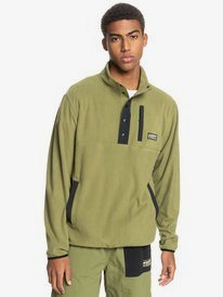 No Destination - Half-Zip Hooded Polar Fleece for Men  EQYFT04356