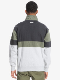Colorblock - Recycled Half Zip Sweatshirt for Men  EQYFT04403