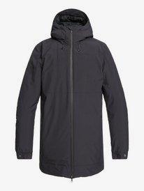 Cordova - Packable Waterproof Longline Hooded Jacket for Men  EQYJK03496