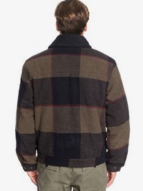 Hurry Down - Sherpa Collar Zip-Up Jacket for Men  EQYJK03515