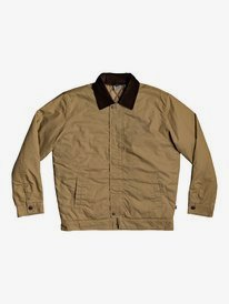 Canvas Cord - Workwear Cord Collar Jacket for Men  EQYJK03587