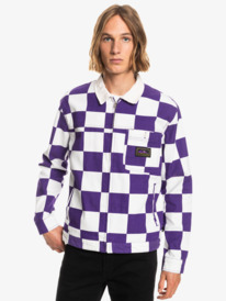 Originals Box Checker - Organic Checked Jacket for Men  EQYJK03674