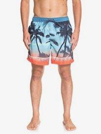 "Paradise 17"" - Swim Shorts for Men  EQYJV03399"