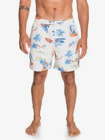 "Sun Damage 17"" - Swim Shorts for Men  EQYJV03643"