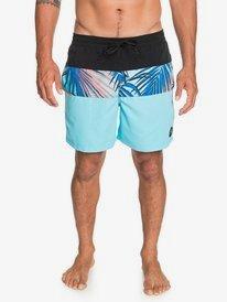 """Sub Tropics 17"""" - Swim Shorts for Men  EQYJV03647"""