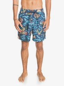 "Too Easy Volley 17"" - Swim Shorts for Men  EQYJV03670"