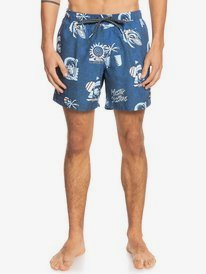 "Island Pulse 15"" - Swim Shorts for Men  EQYJV03697"