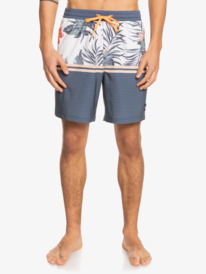 "Division Stretch 17"" - Swim Shorts for Men  EQYJV03745"