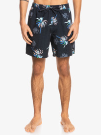 "Royal Palms 17"" - Recycled Swim Shorts for Men  EQYJV03774"