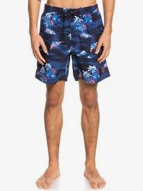 "Uncle Sam 17"" - Recycled Swim Shorts for Men  EQYJV03777"