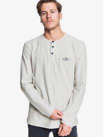 Breezy Day - Long Sleeve Henley T-Shirt for Men  EQYKT03928